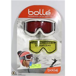 NEW BOLLE SNOWBOARD OR SKI GOOGLE WITH