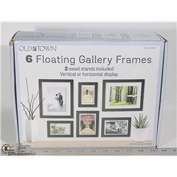 NEW OLD TOWN 6 FLOATING GALLERY FRAMES