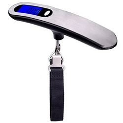 NEW STAINLESS STEEL DIGITAL HANGING LUGGAGE SCALE