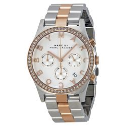 MARC BY MARC JACOBS TRIPLE CHRONO WATCH. MSRP $395