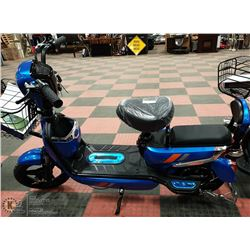 BRAND NEW POWER BICYCLE - 350 WATT MOTOR BLUE