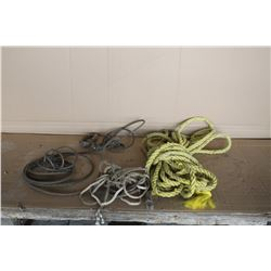 Miscellaneous ropes and cables