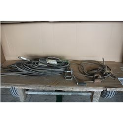Miscellaneous belts, cable and winch