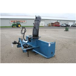Lucknow S75-OR single auger snow blower, hydraulic turn, 540 pto