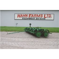 JD 14' rotary hoe, low use