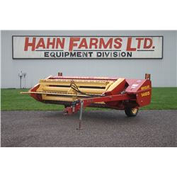NH 1465 9' haybine, conditioning rolls, excellent, one owner
