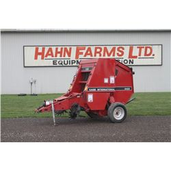 CIH 8420 round baler, 4x4, ramp, one owner