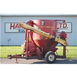 NH 352 mix mill, intake and discharge augers