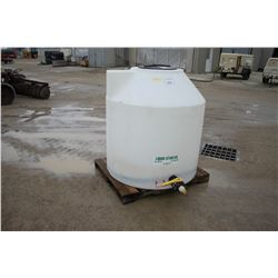 305 gal, poly liquid fertilizer tank