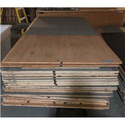 Pallet of plywood 3 quarter inch