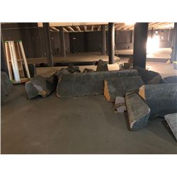 Faux Styrofoam Boulevards - Foam Concrete Prop