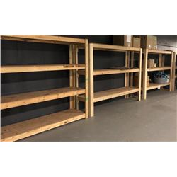 3 Wooden Shelves