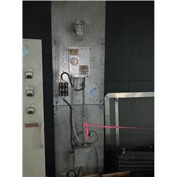 High Voltage Power and Warning Light front panel- Movie Prop
