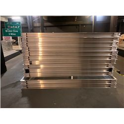 Aluminum Wall Systems - 12pcs - Fits Glass Sheets