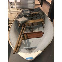 Frontiersman Fiber glass Row Boat