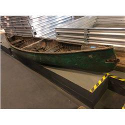 Wooden Canoe - Dark Olive Green