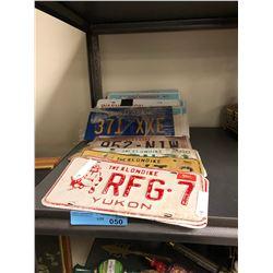 Misc Vintage License plates