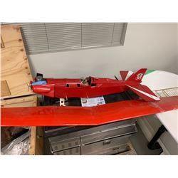 Vintage Gas Model Plane (Red)