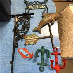 Misc Nautical Wrought Iron Décor