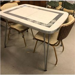 Retro Kitchen table with 2 Chairs