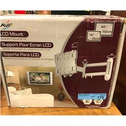 "LCD Wallmount, Swivel and tilt - 14"" upto 40"""