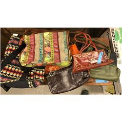 Lot of retro purse