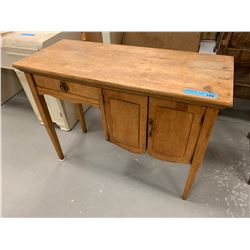 Antique Wooden Childs Desk