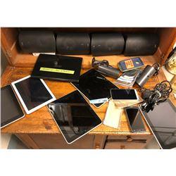 iPads, Speakers, Cameras, Smartphone