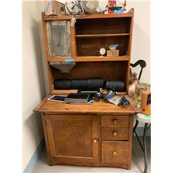 Antique kitchen hoosier cabinet