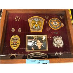 Sheriff (badges, crest and pins) - Movie Prop