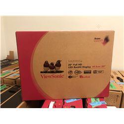 "ViewSonic 20"" Full HD LED Backlit Display Monitor"
