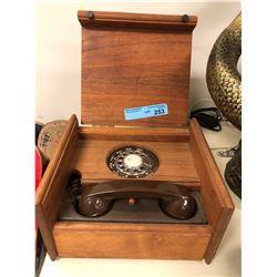 Paul Nelson Rotrary Box Cabinet Phone