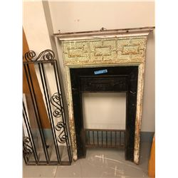 misc  wrought iron fireplace pieces