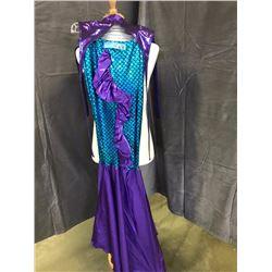 Mermaid costume - purple and blue