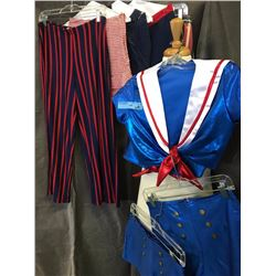 Complete blue sailor costumes with 5 bottoms