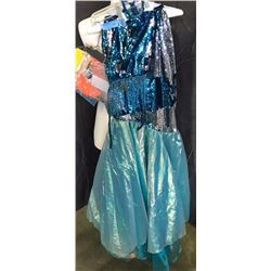 Blue costume - top and bottom