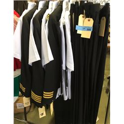 Complete pilot costumes with pants