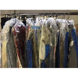 Multiple complete movie set costumes