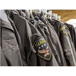 Sheriff Outerwear Costume Rack - Multiple Style Jackets