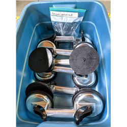 6 Glass Suction cup handles