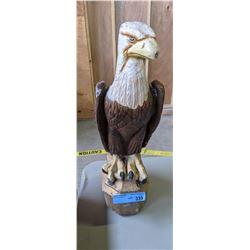 Eagle Statue Concrete