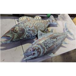 Metal Fish Hanging Decoration