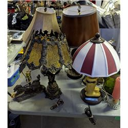 Vintage funky lamps