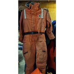 suba suits, floatation devices, wet suits