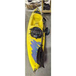 ocean kayak (yellow colour)