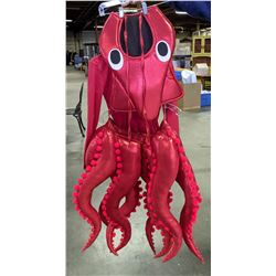 Red Octopus Costume (Fits Adult)