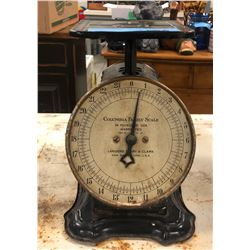 Vintage Columbia Family Scale (24 pounds)