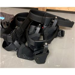 6 gun holster and face shields