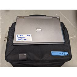 Dell Laptop with charger and laptop bag