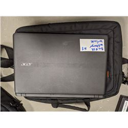 Acer Laptop with Charger and Bag